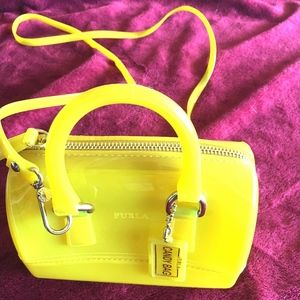 Furla Candy Bag, Yellow, UNUSED!
